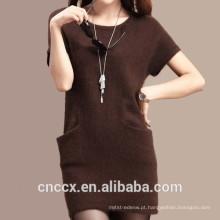 Vestido de camisola de cashmere 15STC6603