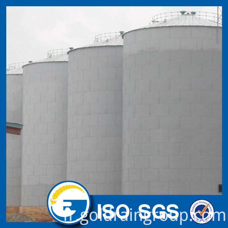 2000 MT grain storage silo