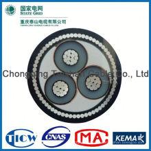 Fabrik Großhandel 15kv 3x240mm DC Stromkabel