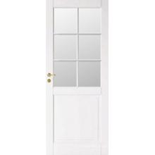 Venta caliente blanco medio diseño de puerta de madera francesa