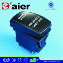 Mini interruptor impermeável com o laser grava