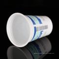 Tasses de milkshake jetables en plastique de qualité écologique de PP de 16 oz
