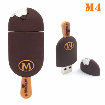 Modelo de sorvete usb 2.0 flash drive