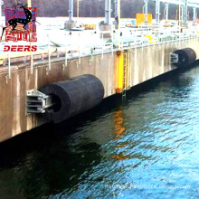 Deers marine rubber jetty cylindrical fenders size 1600*800mm
