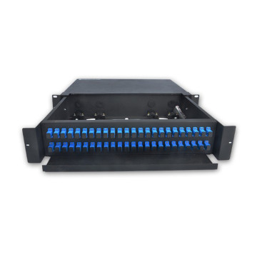 2U 48 Fiber Optic Patch Panel