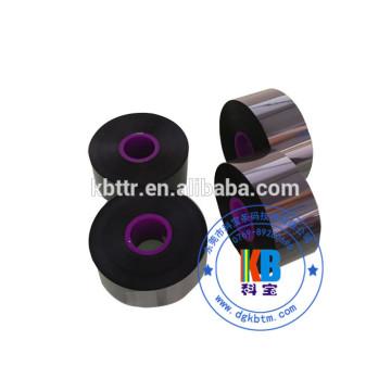 33mm*600m black compatible Markem 9018 black thermal printer ribbon