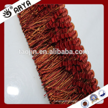 2016 curtain design tassel fringe and tassel for curtain decoration and other home textile