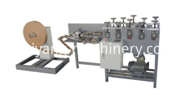 flat rope cutting machine