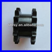 Doble piñón simple fundido negro DS40A15