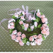 Belle charmante style bohème mariée guirlande mariage accessoires de cheveux, accessoire de cheveux fleur enfant