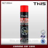 650ml tire foam cleaner car tyre shine