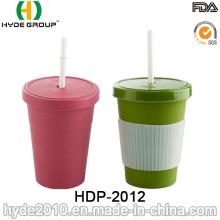 Nuevo tipo taza de fibra de bambú biodegradable no frágil (HDP-2012)