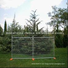 Valla temporal valla de acero portátil