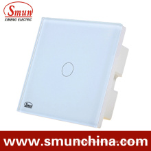1 Gang Wall Touch Switch, Remote Control Switch ABS Fireproof 1500W