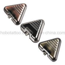 Marca qualidade tatuagem suprimentos Aliminum triângulo tatuagem pedal pé pedal