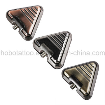Marca qualidade Tattoo fornecimentos alumínio triângulo tatuagem pé interruptor Pedal do pé