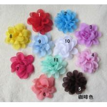 Accessories Chiffon Flower Head Flower Corsage, Hair Hoop To Take The Lead With Slalom Headband Flower
