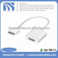 Adaptateur Dock 30 Pin to VGA pour iPod 4 iPad iPhone 4