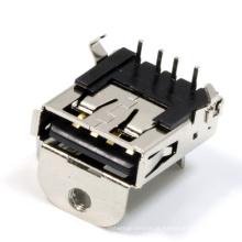 Conector fêmea de 19pin HDMI para STB / DVD / HDTV / PC / gravador de dados do automóvel / câmara digital