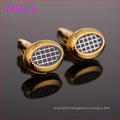 2016 Newsest Gold Plated Pattern of Scotland Oval Cufflinks L51918