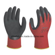 Breathable Work Glove of Sandy Latex Coating (LRS3012)