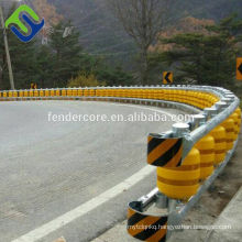 Factory sell roller barrier system / safety rolling barrier / guardrails