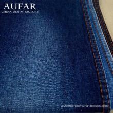 Raw dobby stretch denim jeans textile fabric