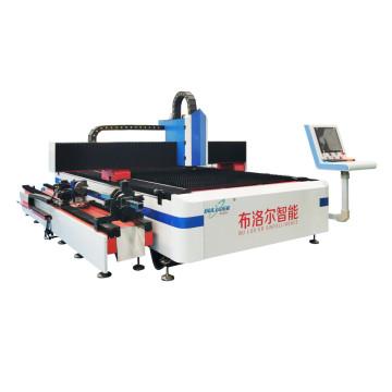 Stainless steel pipe sheet fiber laser cutting machine