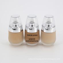 Wholesale Private Label Vegan Long Lasting Foundation Cream Sweatproof Waterproof Makeup Face Foundation Liquid