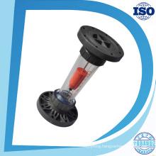 Air Water Flow Sensor PVC Socket-End Connection Flange Fbsp Thread Liquid Plastic Flow Meter