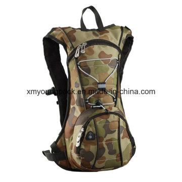 Moda mochila militar paquete de hidratación con bolsa de vejiga