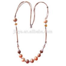 Collier de perles de style bohème à long perle