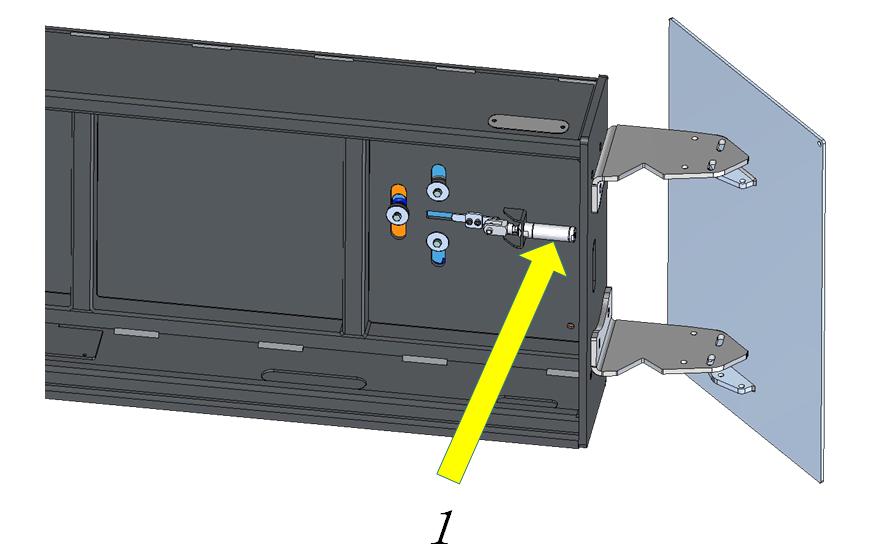 lift sliding plate locking