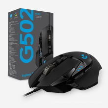 Wholesale Original Logitech G502 Mouse High Speed Hero Wired Gaming Mouse G502 Computer Usb Led Wired Gaming Mouse