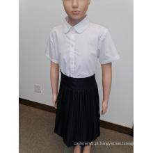 Uniforme escolar de menina personalizado para a escola primária