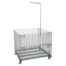 Warehouse Foldable Storage Cage Container