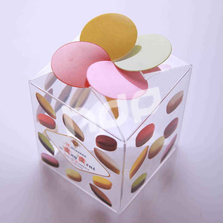 Small Favor Wedding Clear Plastic Candy Packaging Box