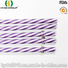 Paja dura plástica colorida de los PP para beber (HDP-0030)