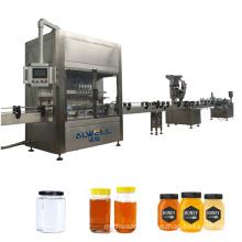 Automatic Jelly Yogurt Sugar Honey Rotary Discal Filling Capping Sealing Machine Liquid Filling Normal Pressure Filling