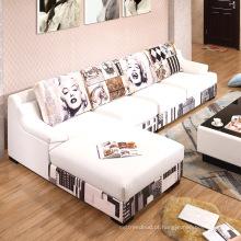 Atacadista de Mobiliário Moderna Sofá Simples Set Design