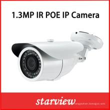 1.3MP IP Poe IR impermeable CCTV seguridad Bullet cámara de red