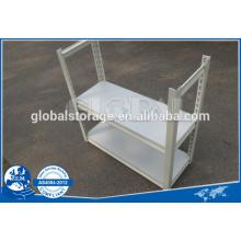 Estantería remachada de estantería de montaje ligero / montaje rápido / LDS con recubrimiento en polvo