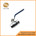 Aluminum Handle Electroplate Brass Ball Valve