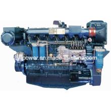 Moteur marin de la série Wp12, 258-330kw, Weichai