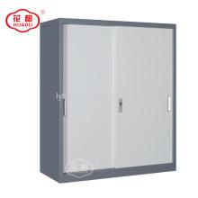 Хуаду современный дизайн половина высоты раздвижные двери гаража подачи для хранения шкаф шкаф