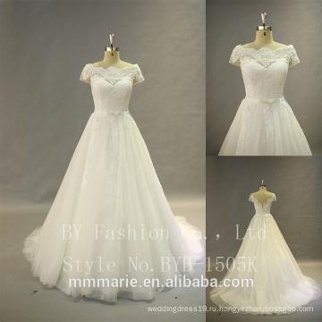 Горячее надувательство новая модель 2017 свадебное платье без бретелек невесты с плеча вечернее платье тост свадебное платье