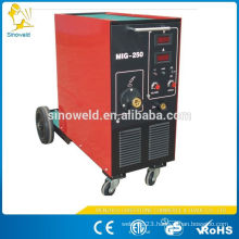 CE approved High proformance wire feeder compact inverter mig machine MIG250