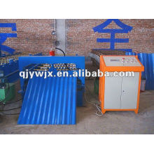 QJ Auto Wave Profile Roofing Sheet Roll Bending Machine