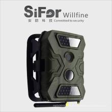 sistema de câmera de segurança para o movimento de casas atuou com invisível 940nm ir leds monitor escondido