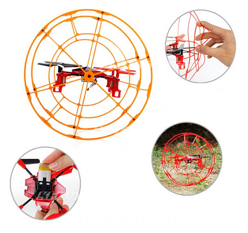 RC Climbing Drone With Gyro